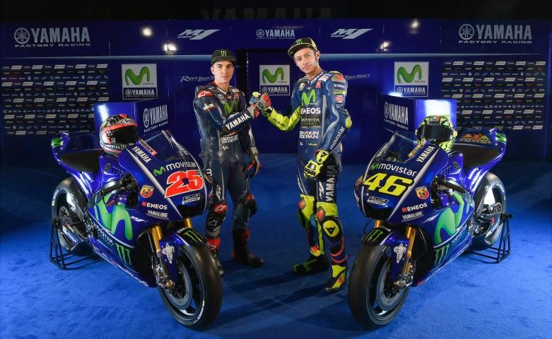 MotoGP 2017 : Galeri foto Yamaha YZR M1 2017 yang akan digunakan Valentino Rossi dan Maverick Vinales