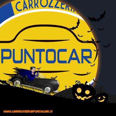 Andiamo a festeggiare Halloween ... Carrozzeria Puntocar