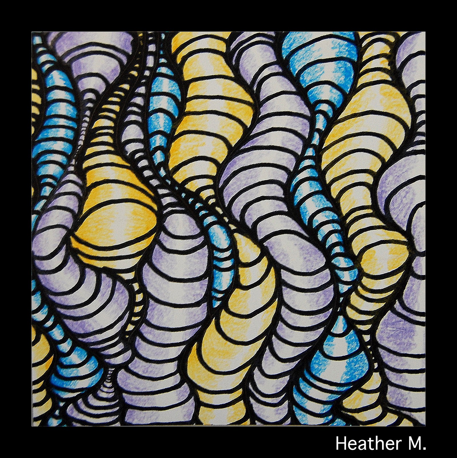 The New Hope Art Gallery: Middle School Art: Optical Illusions