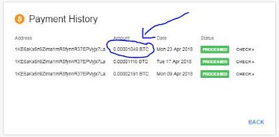 Bukti Withdraw Ke 3 Dari CryptoTab MANTAP