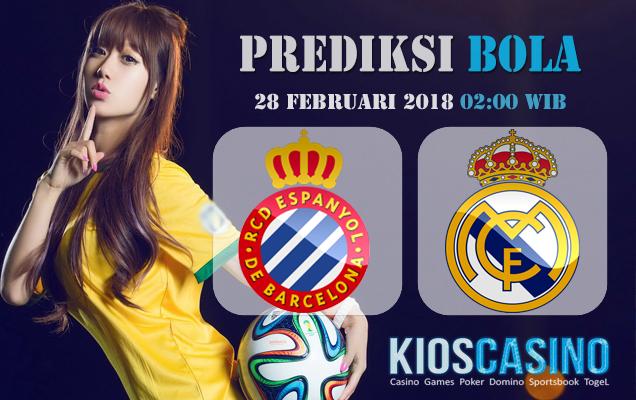 Prediksi Skor Espanyol vs Real Madrid 28 Februari 2018