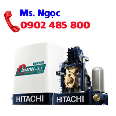 Máy bơm tăng áp vuông Inverter Hitachi WM-P400GX-SPV-WH 400W