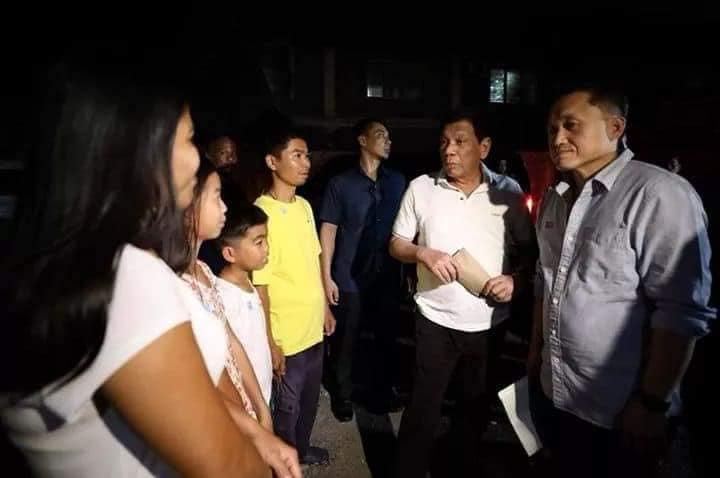 Gitler Yanez meets President Duterte