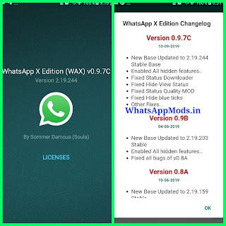 WhatsApp X v0.9.7c