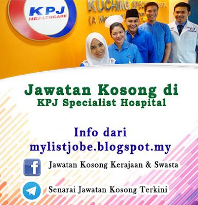 Jawatan Kosong di KPJ Ipoh Specialist Hospital