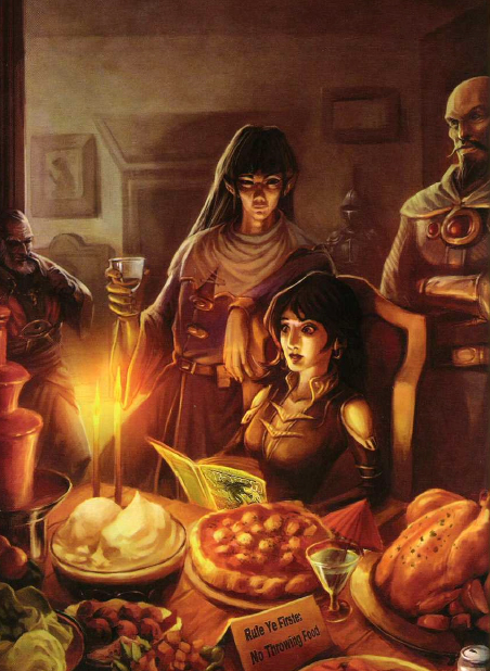 Power Score Dungeons Dragons The Great List of Food