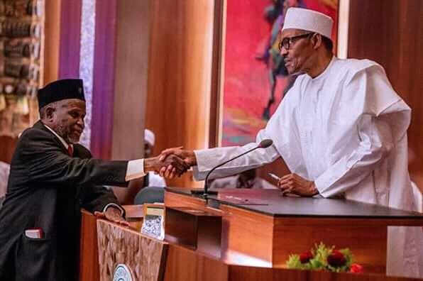 ADDRESS BY HIS EXCELLENCY, MUHAMMADU BUHARI, PRESIDENT OF THE FEDERAL REPUBLIC OF NIGERIA, ON SUSPENSION OF HONOURABLE JUSTICE WALTER NKANU SAMUEL ONNOGHEN AS CHIEF JUSTICE OF NIGERIA AND SWEARING IN OF ACTING CHIEF JUSTICE, 25TH JANUARY 2019