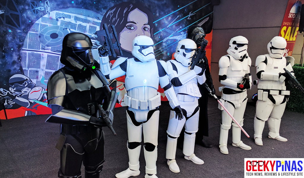 Disney Launches Star Wars Rogue One Mural at SM North EDSA