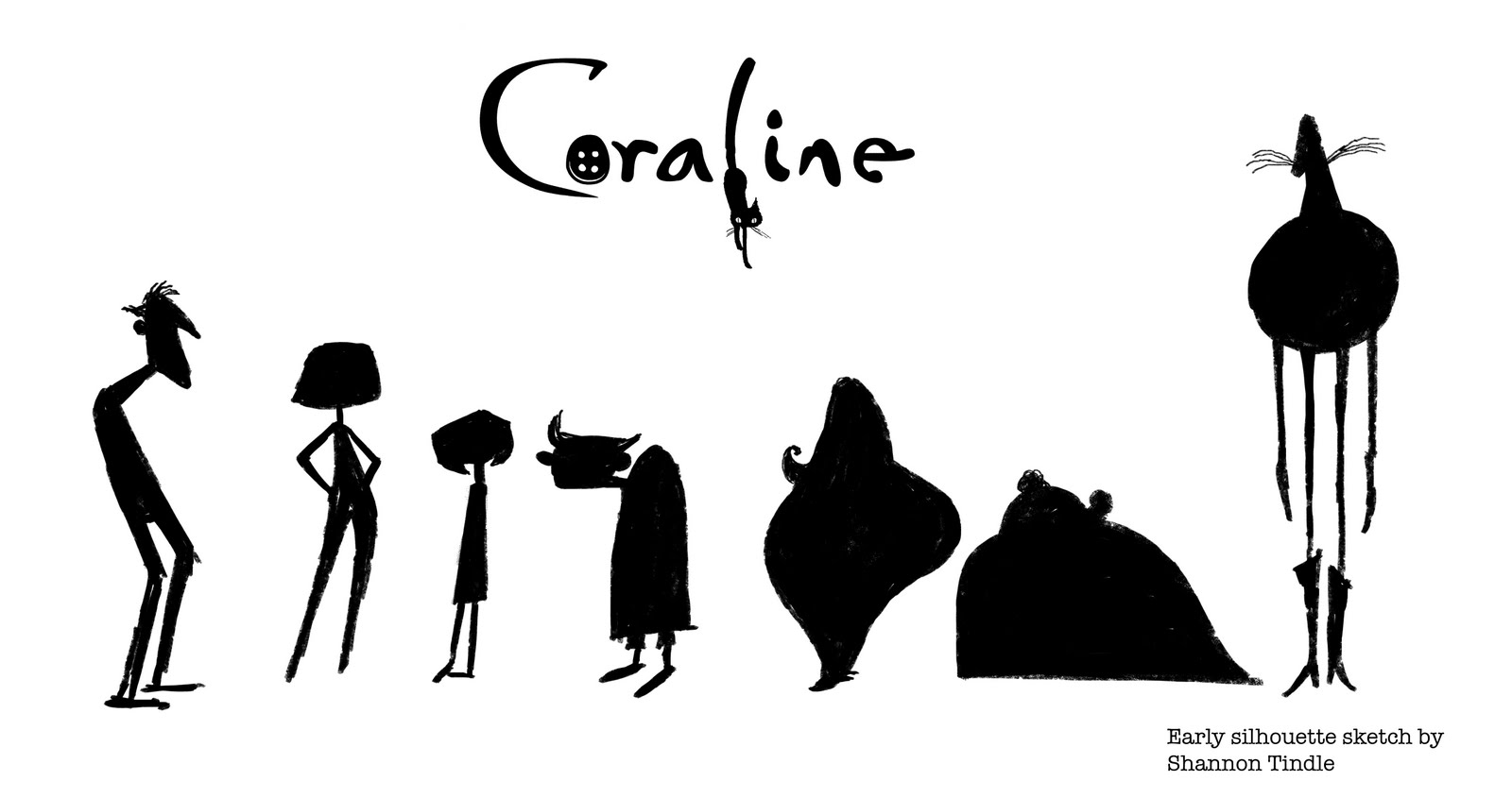 Character Design Meaning : Living lines library coraline character design