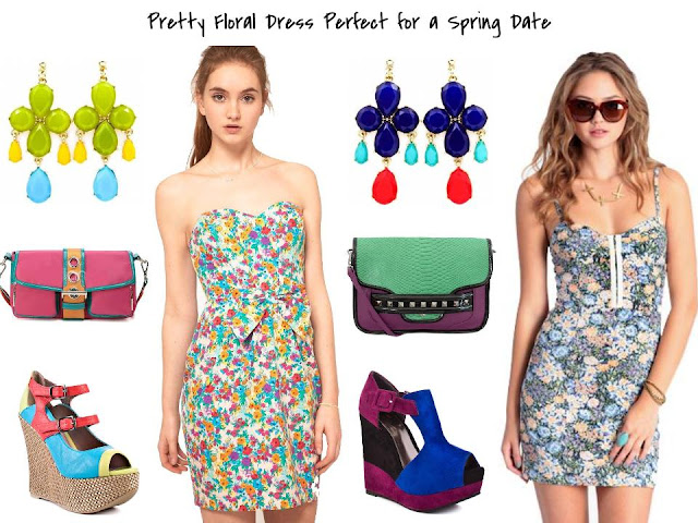 {Haute Inspiration} Floral Dress for a Spring Date