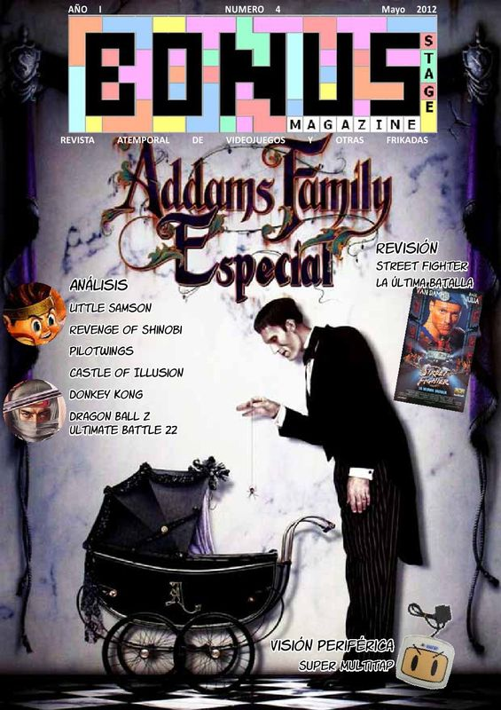 Bonus Stage Magazine #04 Especial Adams Family (04)