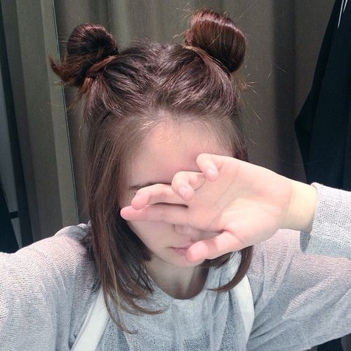space buns hairstyles