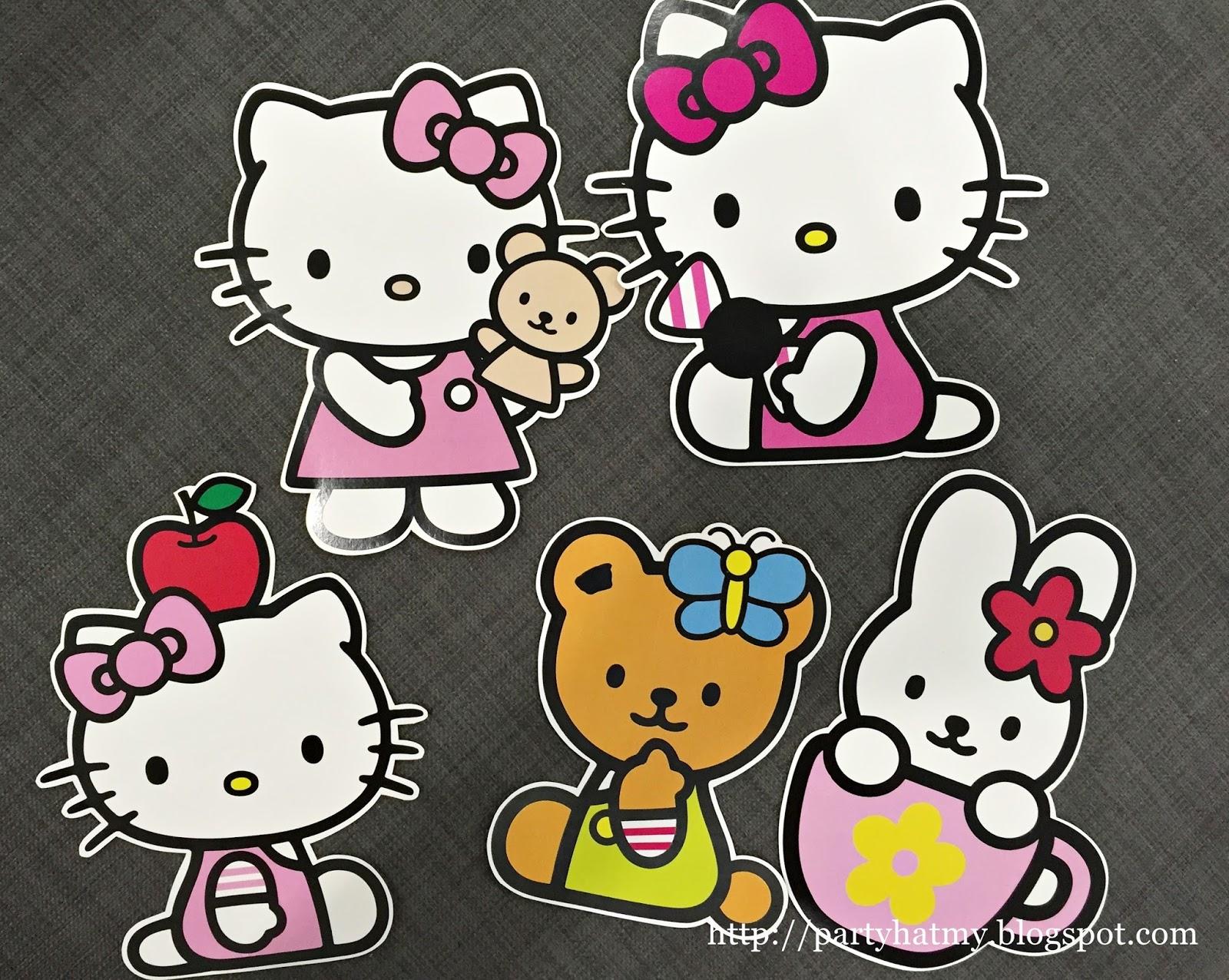 Party Hat Janessa S 1st Hello Kitty Birthday