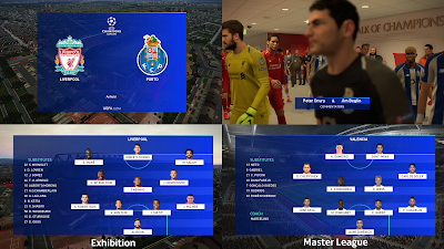 PES 2019 Scoreboard UEFA Champions League 2019 by Spursfan18