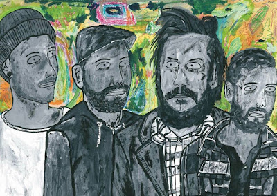 """Hungry Lake and their big psychedelic folk rock sound cuts a big swath in """"Out of Line"""""""