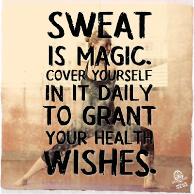 Gym Quotes About Sweat