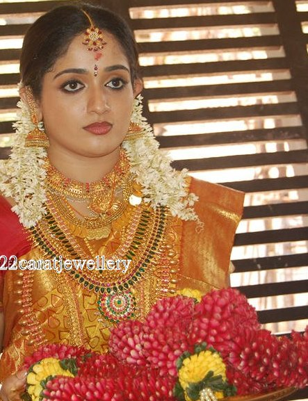 Kavya Madhavan Wedding Jewellery South Indian Traditional