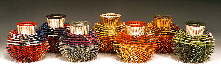 The Art Of Basketry By Kari Lonning : Contemporary basketry color