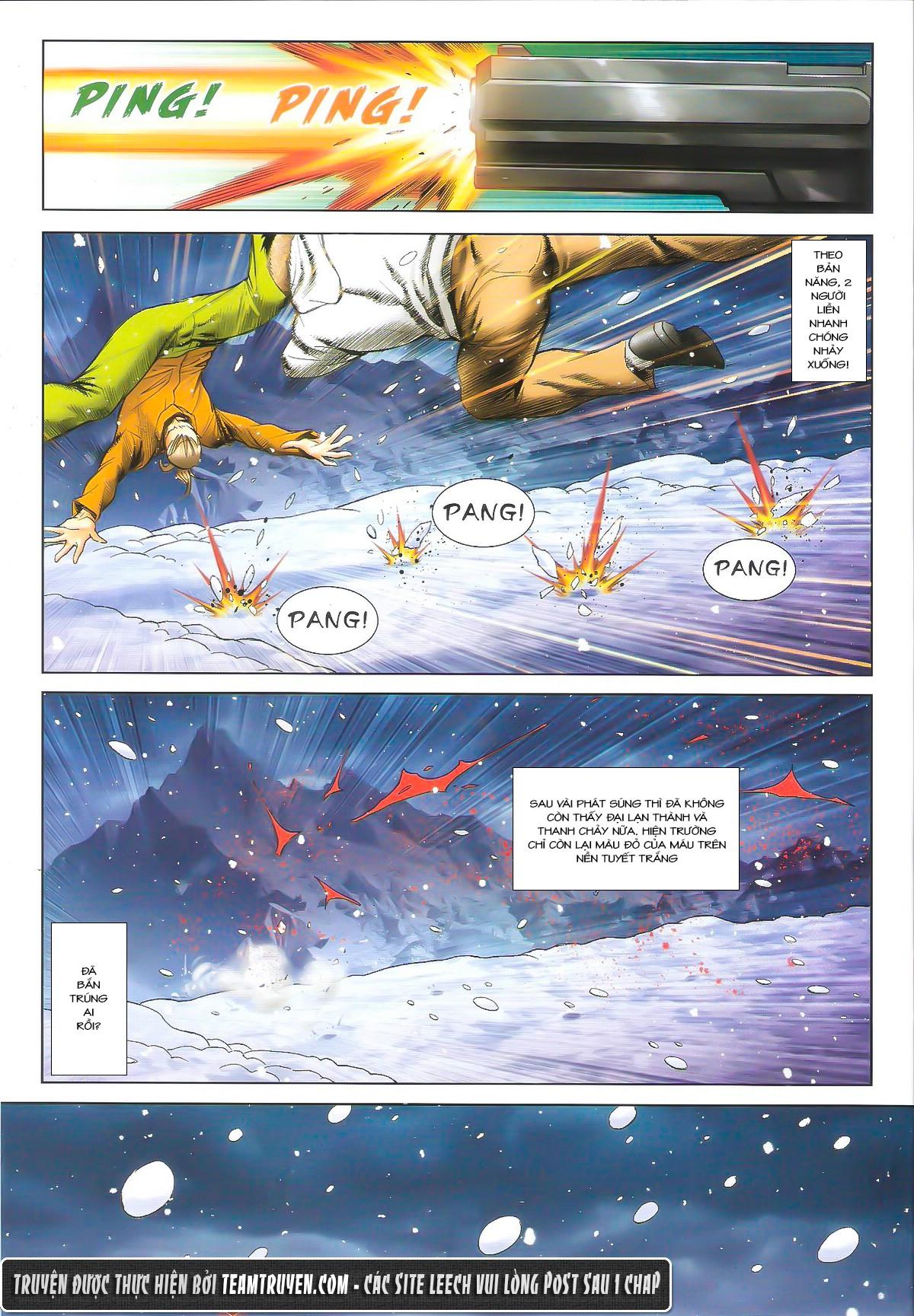 Người Trong Giang Hồ chapter 1614: tiễn mày một đoạn trang 22