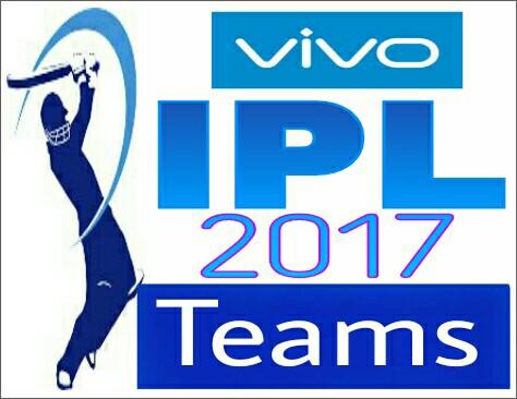 IPL 2017 Match List