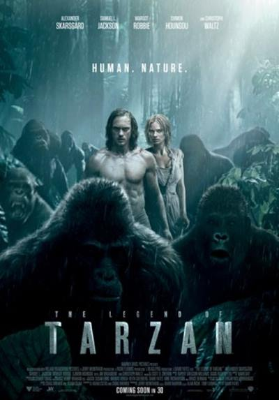 The Legend Of Tarzan 2016 HDRip 720p