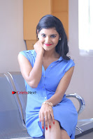 Telugu Actress Mounika UHD Stills in Blue Short Dress at Tik Tak Telugu Movie Audio Launch .COM 0158.JPG