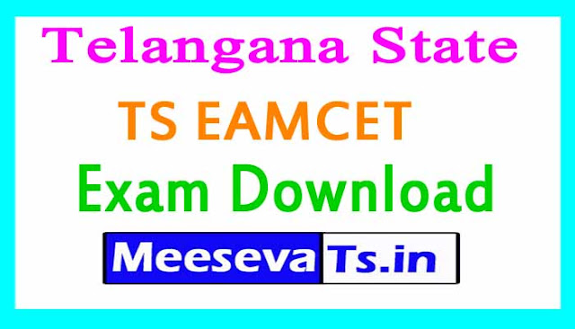 TS EAMCET Exam Hall Tickets