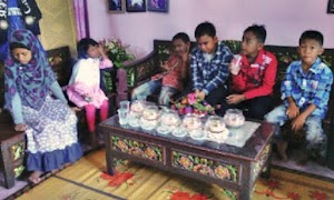 Manambang , Tradisi Merayakan Lebaran Bagi Anak-Anak Padang