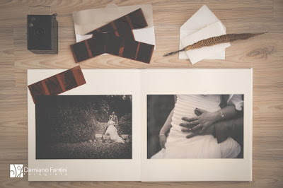 album foto matrimonio artigianale