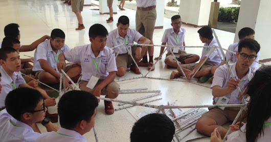 Phitsanulok Pittayakom School EP students undergo science camp with Canadian scientists