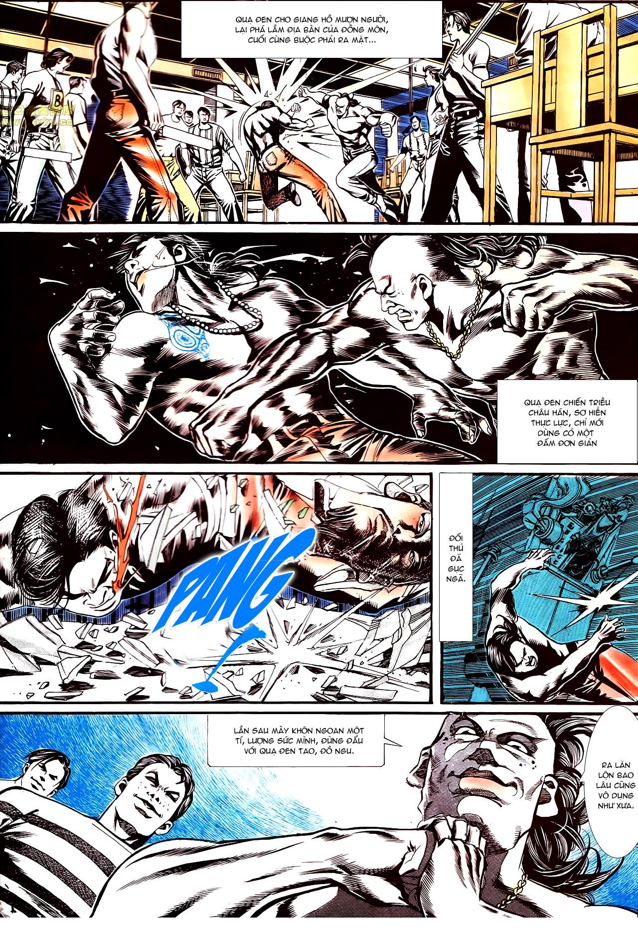 Người Trong Giang Hồ chapter 152: trăng sáng chiêm đông trang 2
