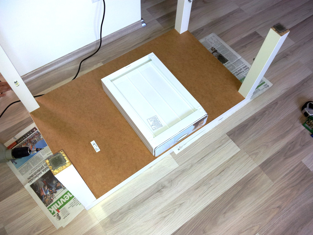 diy do it yourself blog ikea hack lack table with drawer. Black Bedroom Furniture Sets. Home Design Ideas