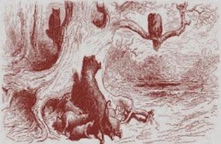 La gatta, l'aquila e la scrofa (Esopo)
