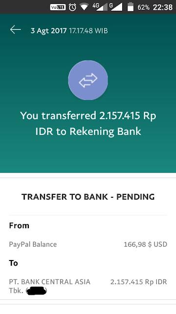 pengalaman withdraw paypal