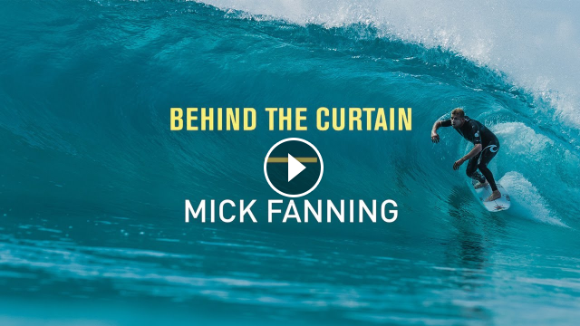 Behind The Curtain - Mick Fanning