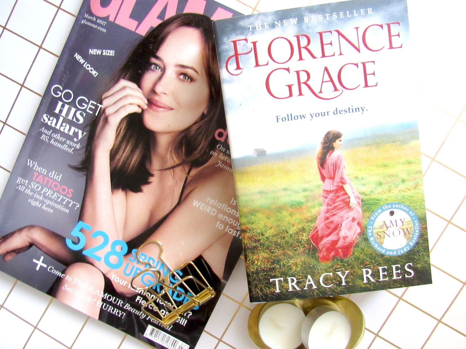 Florence Grace lifestyle blog book review on Blooming Fiction