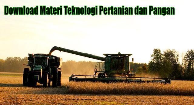 download tphp, unduh materi tphp,  pengolahan pertanian