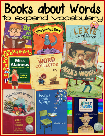 Books About Words to build Vocabulary