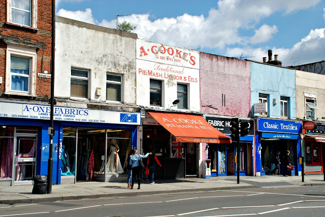 Goldhawk Road, London