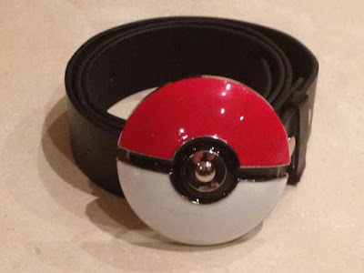 Pokemon Pokeball Metal Buckle