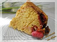 Gâteau aux pralines sans gluten, presque une brioche...