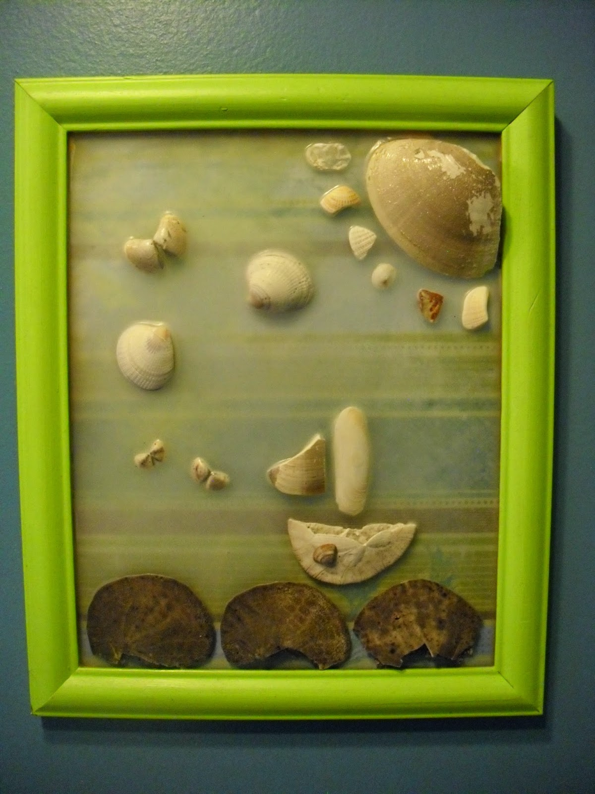 MixingItUp Create Pictures With Sea Shells - Boat