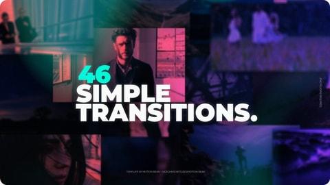 46 انتقال احترافي جديد لبرنامج ادوبي افتر افكت CS6 فأعلى