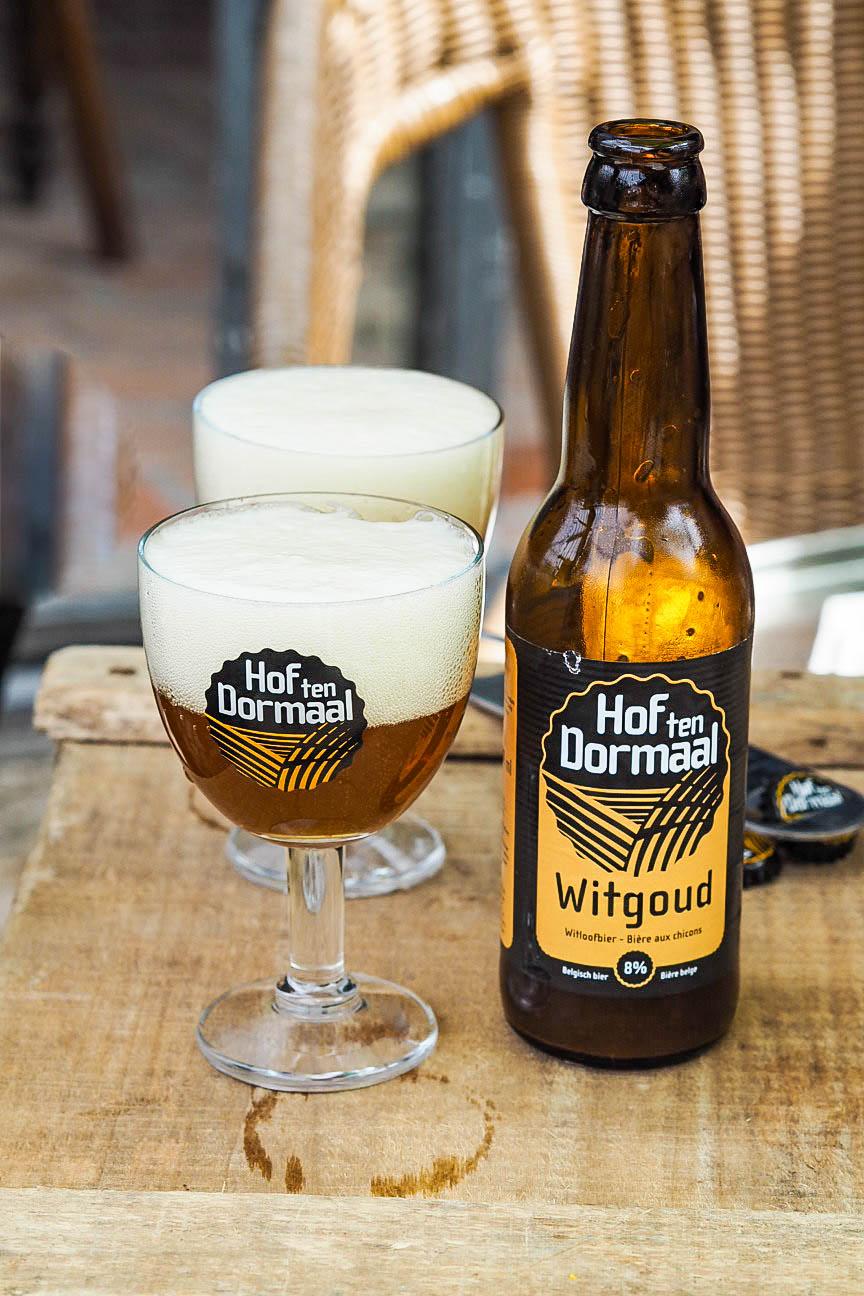 Hof Ten Dormaal Brewery's Witgoud beer