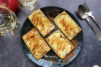 Tartelettes aux pommes, un dessert délicieux pour les nuls! Recette végétale facile et rapide