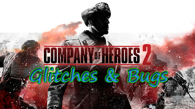 Company Of Heroes Clicking Screen Glitch