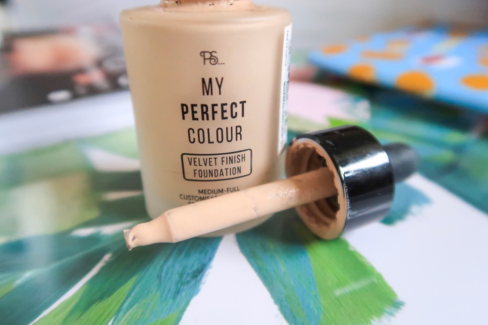 primark my perfect colour velevt finish foundation with dropper