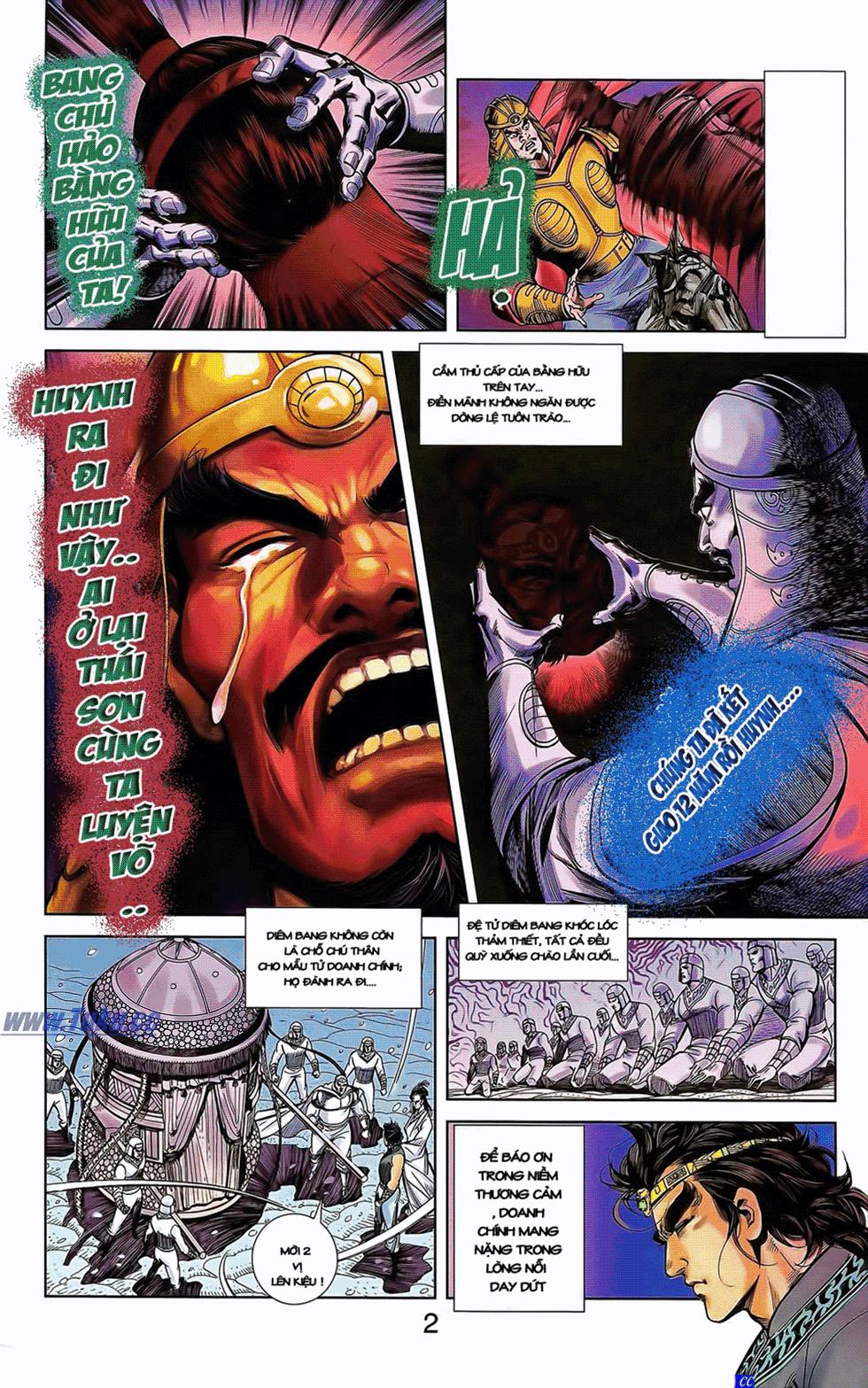 Tần Vương Doanh Chính chapter 11 trang 21