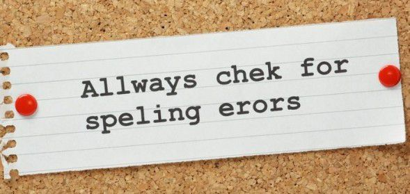 Spelling Mistakes, Writing Tips for Beginners
