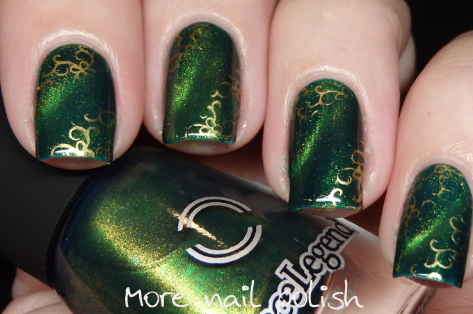 31DC2016 - Green - Dance Legend Licence to Kill magnetic polish ...
